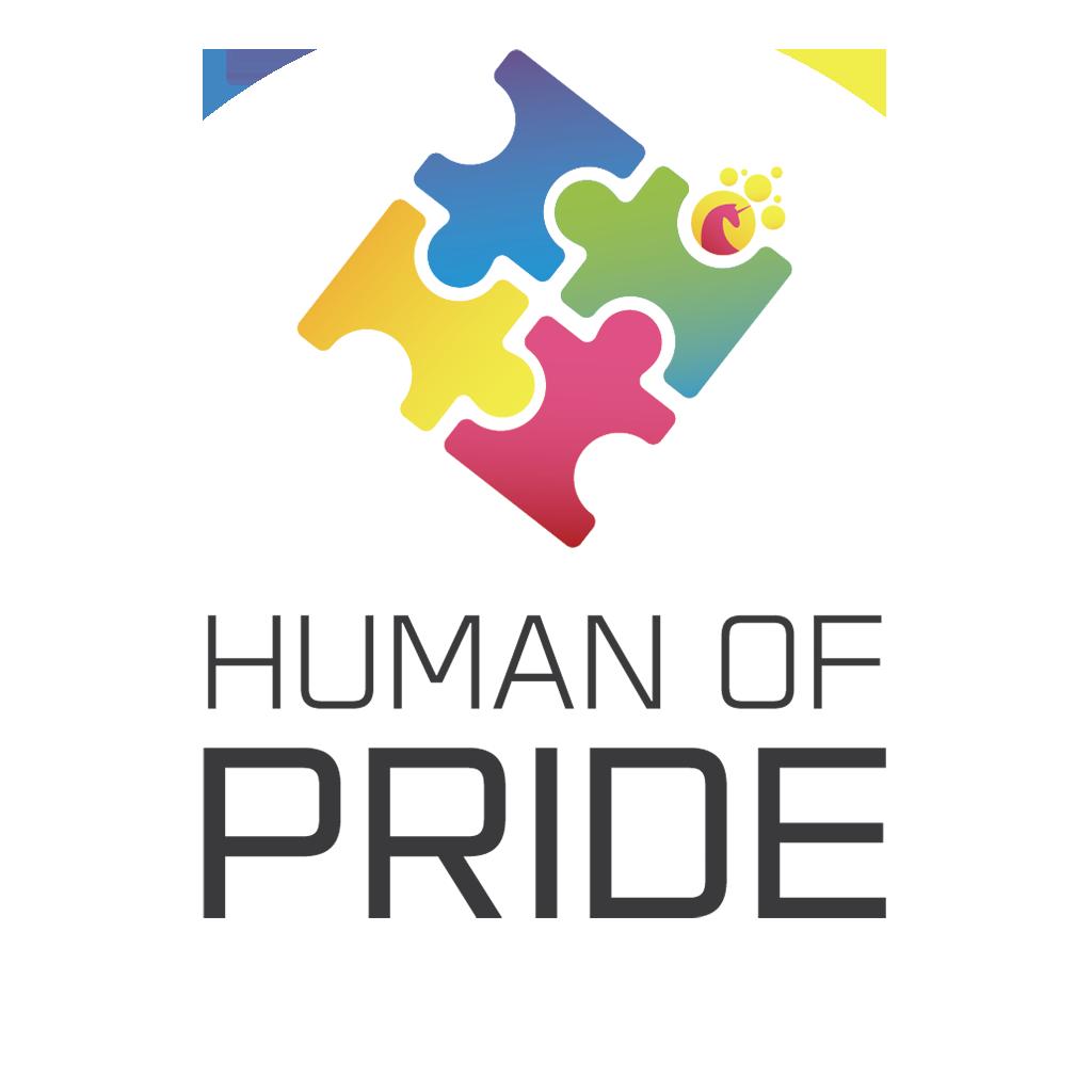 Human of Pride Logo