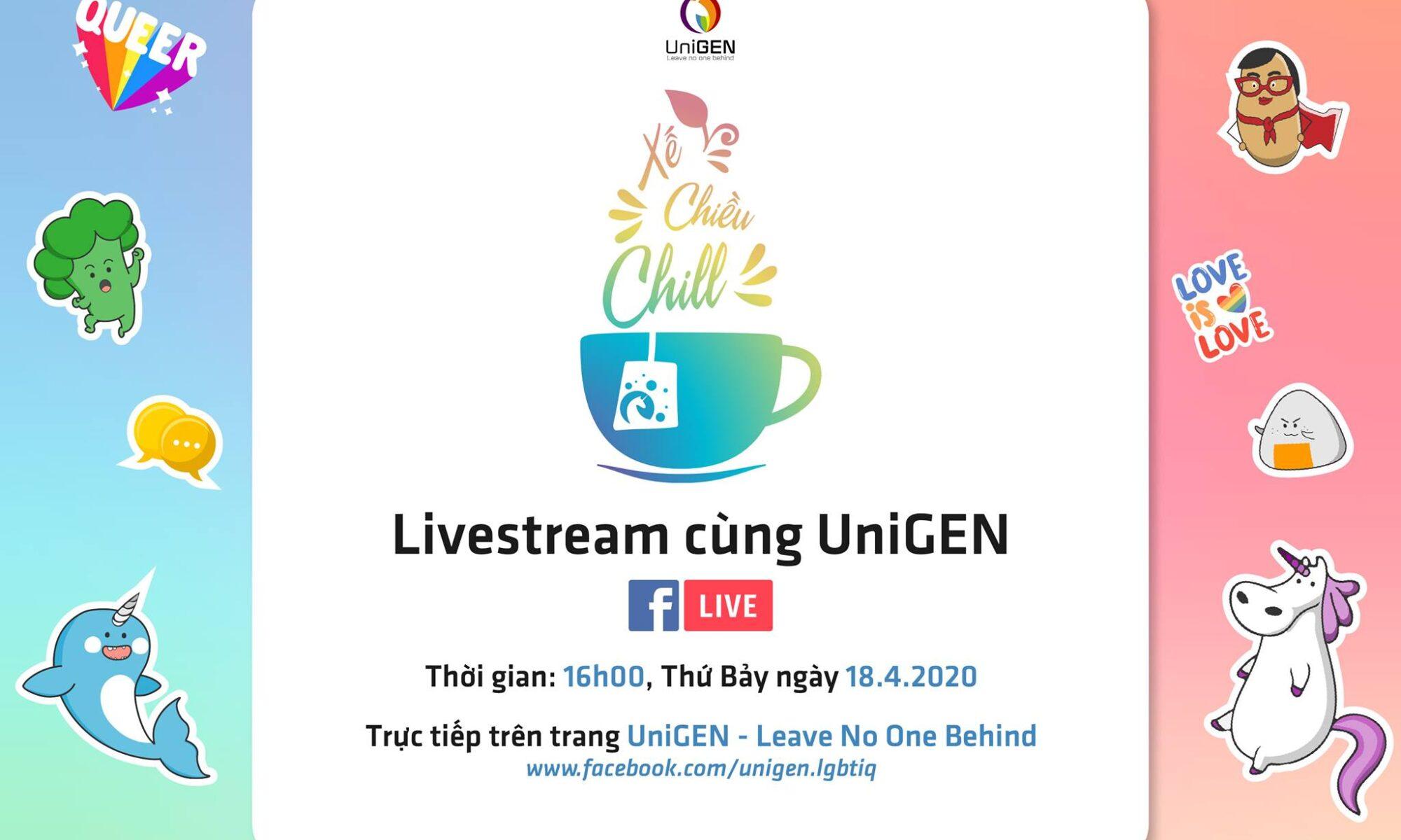 "Livestream ""Xế Chiều Chill"""